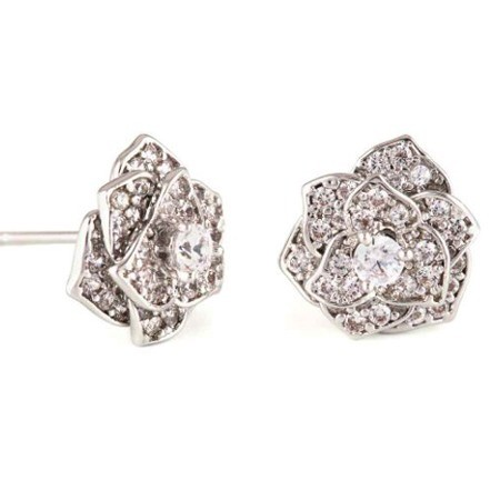 Woman Earring Set 262 Silver