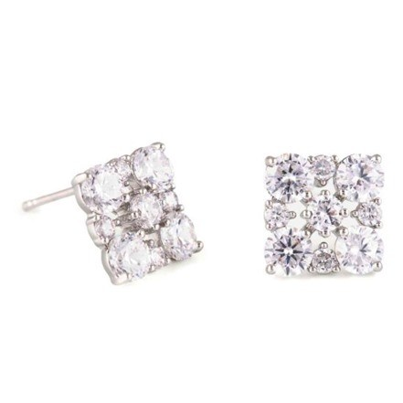 Woman Earring Set 285 Silver