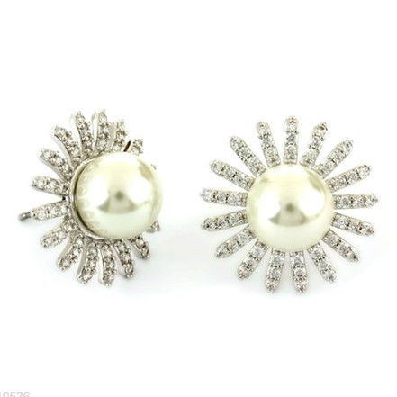 Woman Earring Set 290 Silver