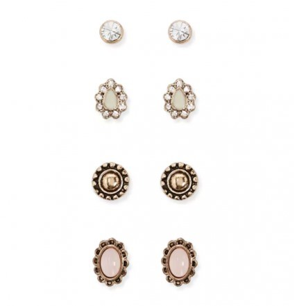 Woman Earring Set 296 Stud