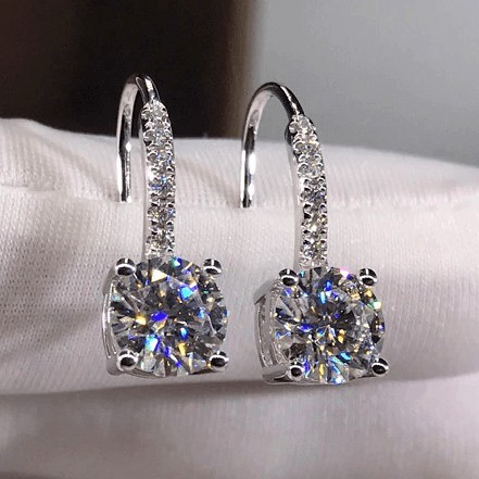 Woman Earring Set 299 Silver