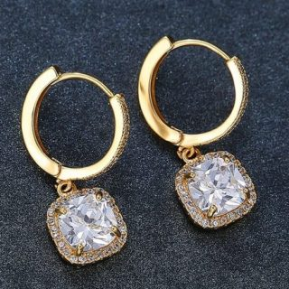 Woman Earring Set 337 Silver Stud Earring