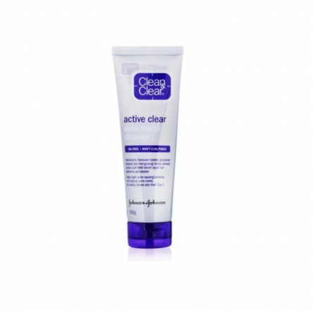 Active Clear Acne Masks Cleanser 100g