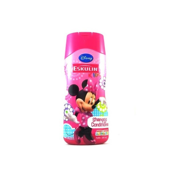 Disney Eskulin Shampoo & Conditioner Pink