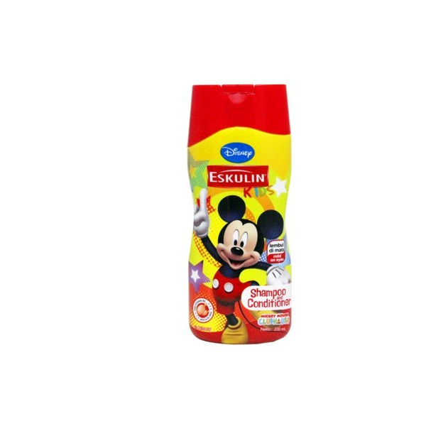 Disney Eskulin Shampoo & Conditioner Yellow