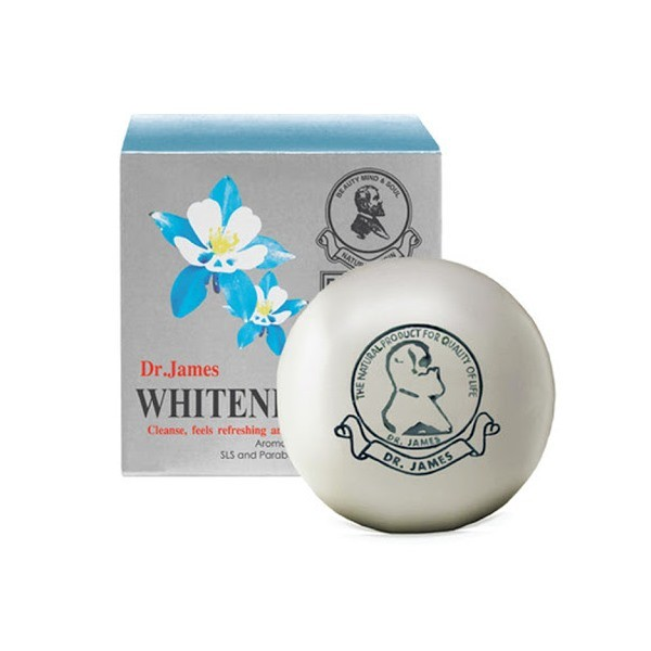 Dr James Whitening Soap 80g Aroma Oil