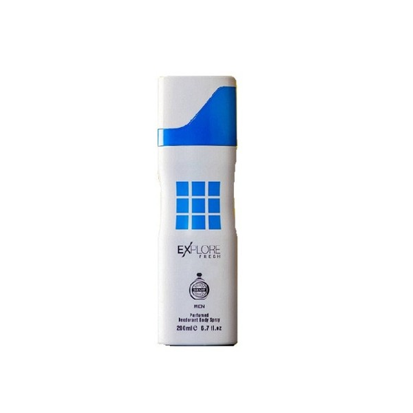 Explore Blue body spray 200ml