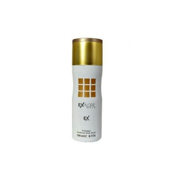 Explore Golden body spray 200ml