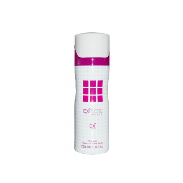 Explore Pink body spray 200ml