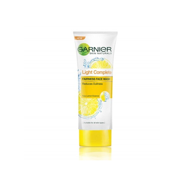 Garnier Light Fairness Face Wash Lemon