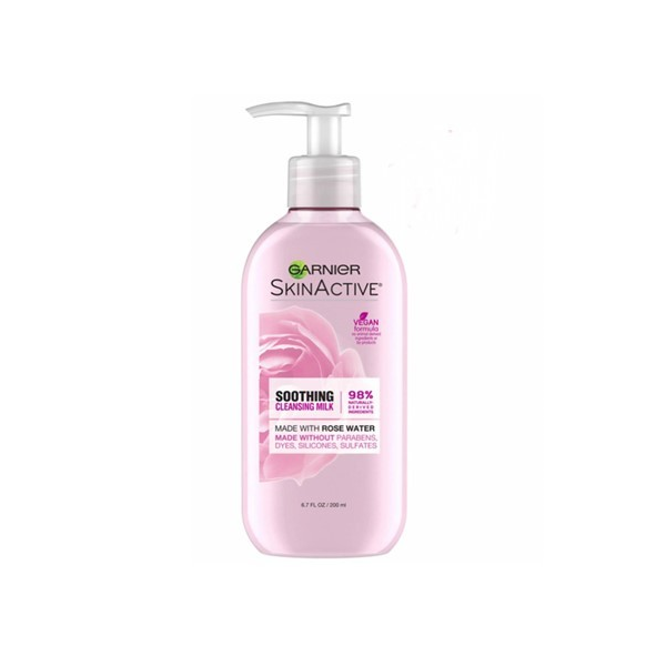 Garnier Soothing Cleansing Milk Rose Water