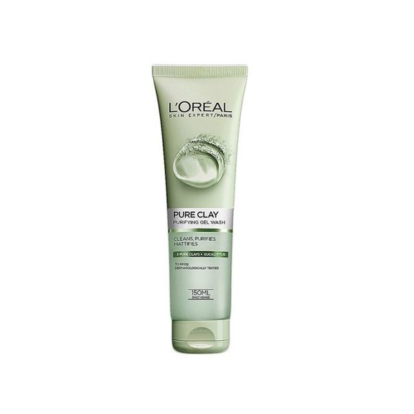 L'oreal Skin Expert Pure Clay Purity Gel Wash