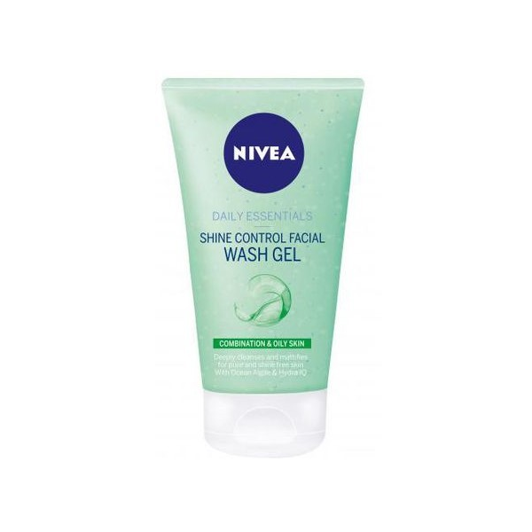 Nivea Daily Shine Control Facial Wash Gel