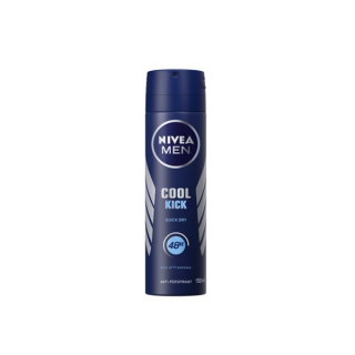Nivea Man Cool Kick Body Spray 150ml price in Pakistan, Jewel Mart, Online Shopping Mall, NIVEA MEN Cool Kick, 48h confidence and antiperspirant protection keeping you fresh