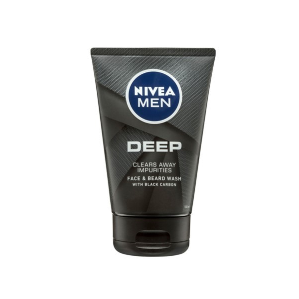 Nivea Men Deep Face & Beard Wash 150ml