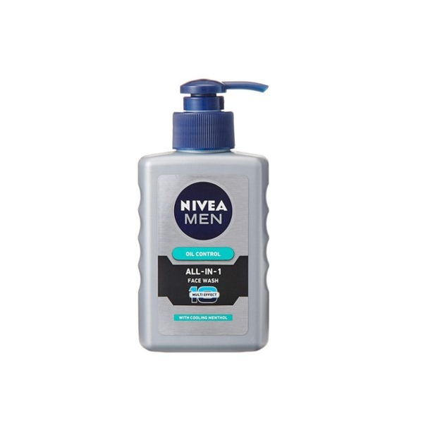 Nivea Men Oil Control All In 1 Charcoal Face Wash