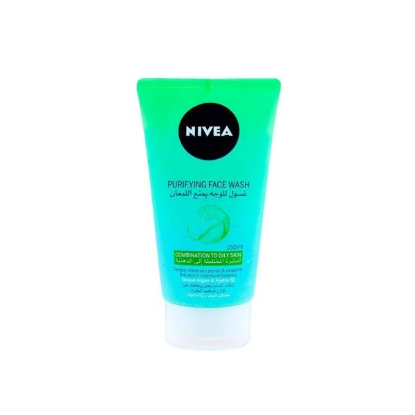 Nivea Purifying Face Wash Combination To Oily Skin