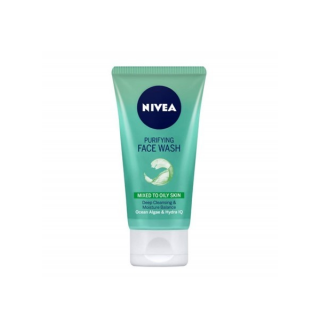 Nivea Purifying Face Wash Mixed To Oily Skin in Pakistan, Jewel Mart, Healthy & Skin Care Face Cleanser, smooth, gently to moistened face and neck
