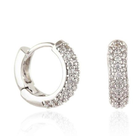 Woman Earring Set 152 Silver