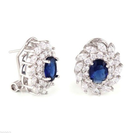 Woman Earring Set 183 Silver