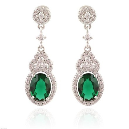 Woman Earring Set 207 silver