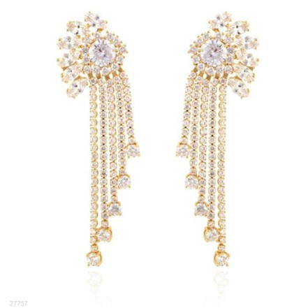 Woman Earring Set 216 Golden