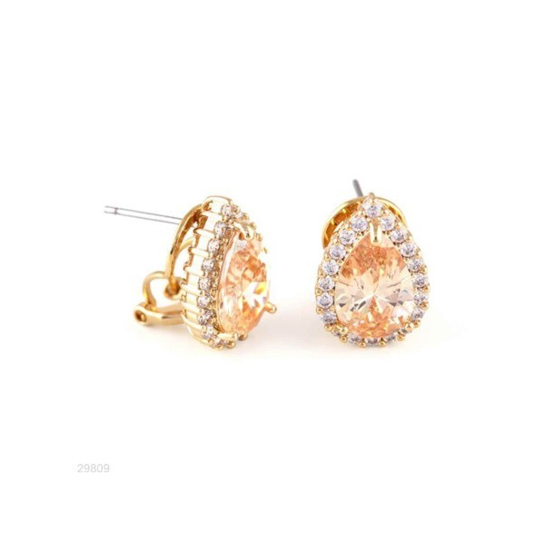 Woman Earring Set 238 Golden
