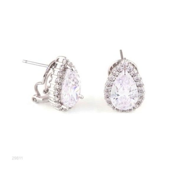 Woman Earring Set 239 Silver
