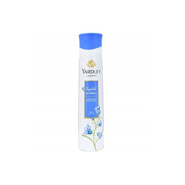 Yardley London English Bluebell Body Spray 150ml