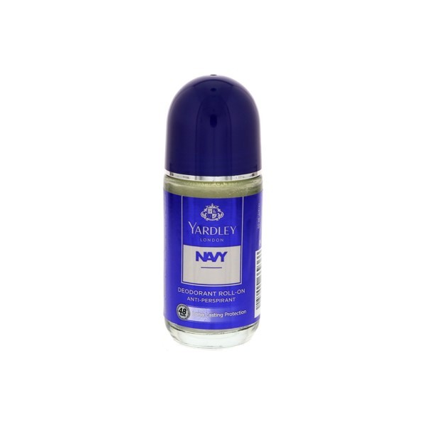 Yardley London Navy Roll On 50ml