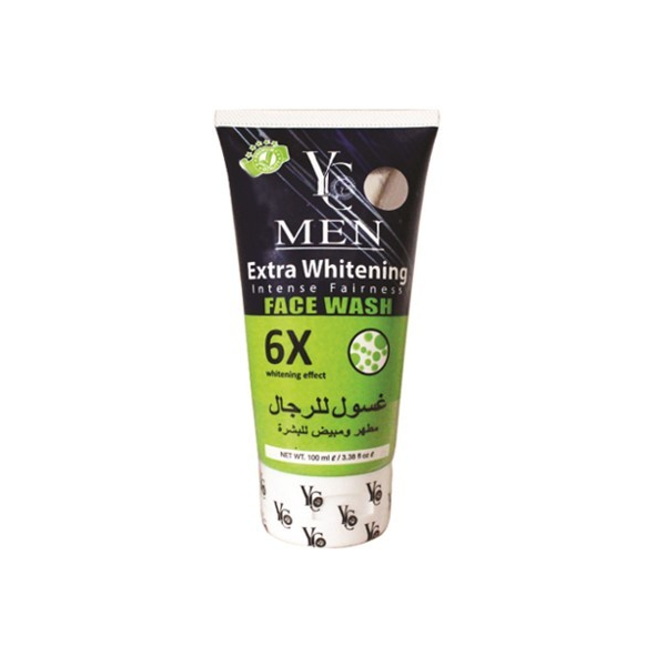Yc Men Extra Whitening 6x Face Wash