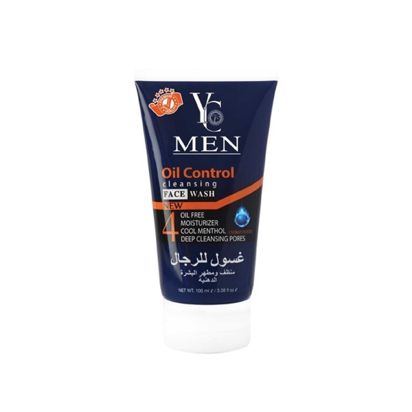 Yc Men Oil Control Cleansing Face Wash