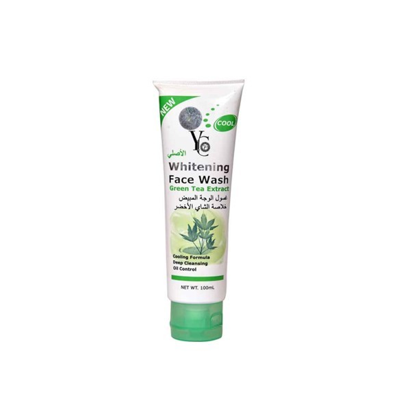 Yc Whitening Face Wash Green Tea Extract