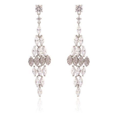 Woman Earring Set 223 Silver