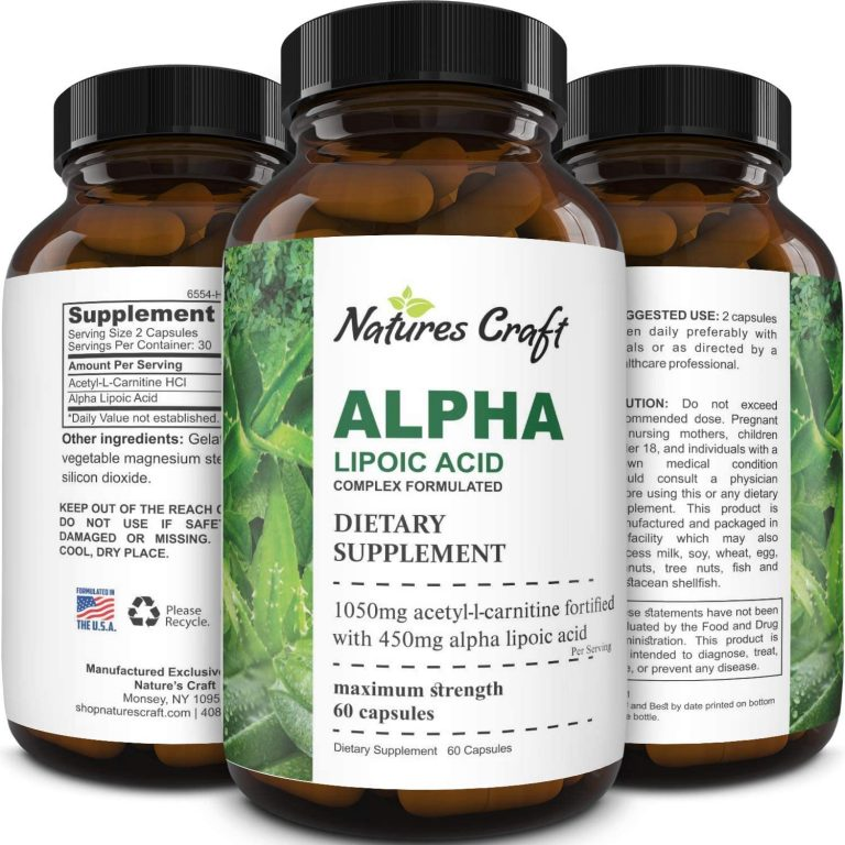Natures Craft Alpha Lipoic Acid