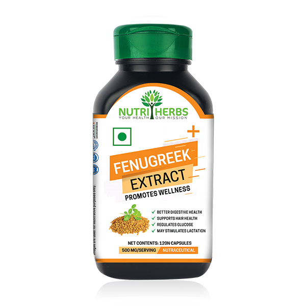 Fenugreek Herbal Extracts Capsules