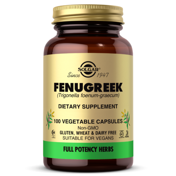 Fenugreek Capsules 100 Vegetables Capsules