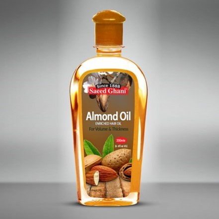 Saeed Ghani Almond Oil 200ml