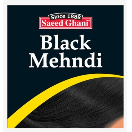 Saeed Ghani Black Hair Mehndi 10gm
