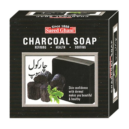 Saeed Ghani Charcoal Soap 100gm