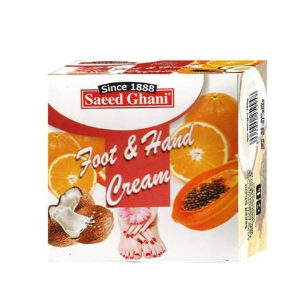 Saeed Ghani Foot & Hand Cream 180gm