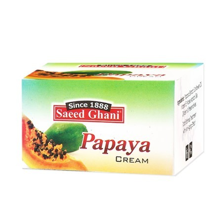 Saeed Ghani Papaya Cream 85gm