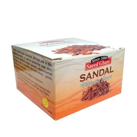 Saeed Ghani Sandal Cream 100gm
