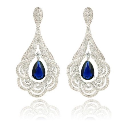 Woman Earring Set 102 Silver