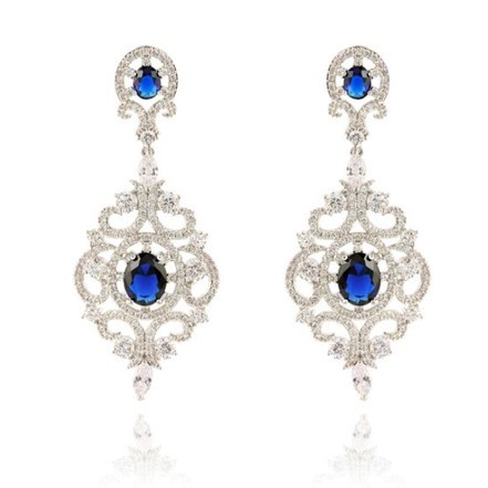 Woman Earring Set 104 Silver