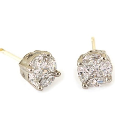 Woman Earring Set 56 Silver