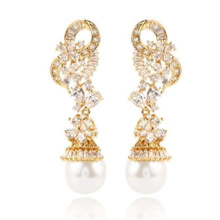 Woman Earring Set 59 Golden