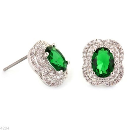 Woman Earring Set 78 Silver