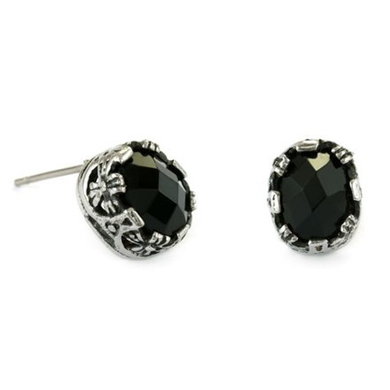 Woman Earring Set 89 Black