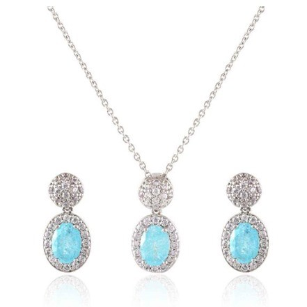 Woman Jewelry Set No 40 Turquoise